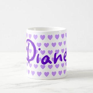Diane in Purple Coffee Mug