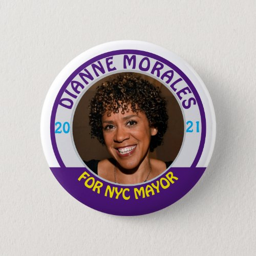 Dianne Morales for NYC Mayor 2021 Button