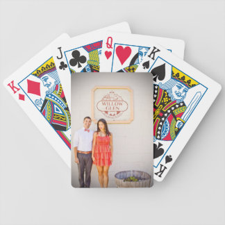 Dianne & Tony's Engagement Playing Cards