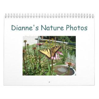 Dianne's Nature Photos Calendar