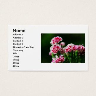 Dianthus #1 business card