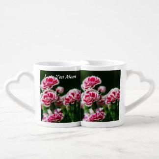 Dianthus  #1 coffee mug set