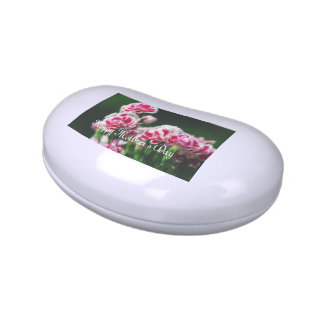 Dianthus  #1 jelly belly candy tins