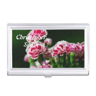 Dianthus #1 business card case