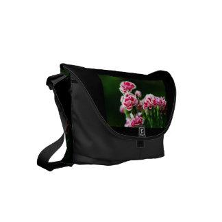 Dianthus #1 small messenger bag