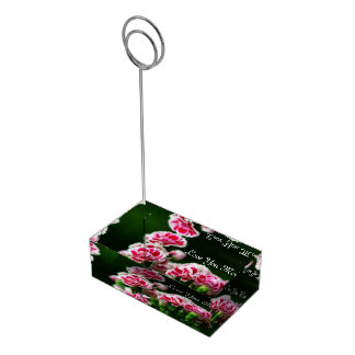 Dianthus  #1 table card holders