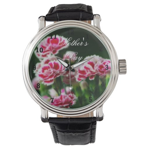 Dianthus  #1 wristwatches