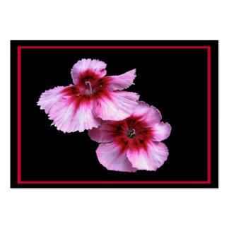 Dianthus Blossoms ATC Business Cards