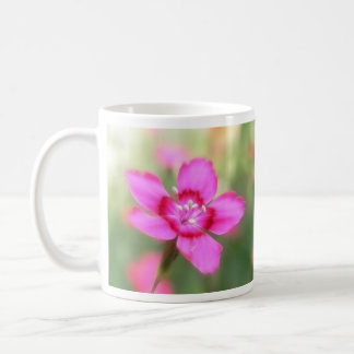 Dianthus Deltoides Flowers  - Close Up Coffee Mug