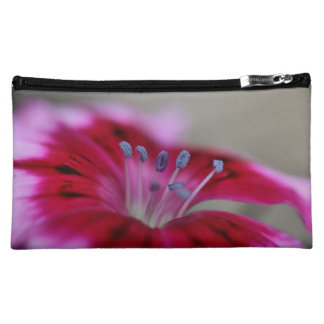 Dianthus Flower Cosmetic Bag