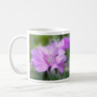 Dianthus Plumarius Flower Coffee Mug