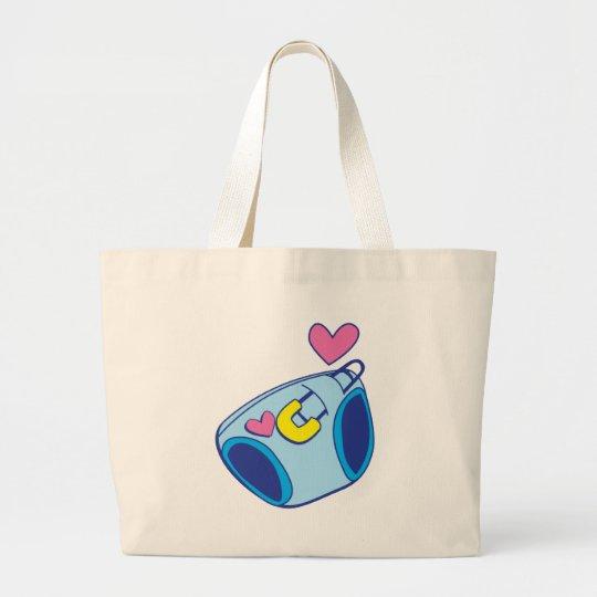 Diaper baby large tote bag
