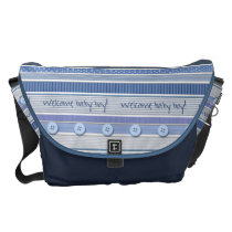 Diaper Bag - Welcome Baby Boy