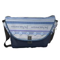 Diaper Bag - Welcome Baby Boy
