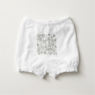 Diaper bloomers with Dots