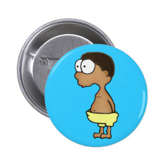 Diaper Boy 2 Inch Round Button