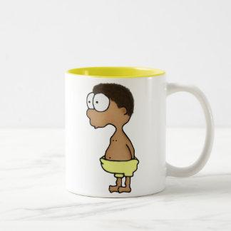 Diaper Boy Two-Tone Coffee Mug
