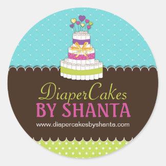 Diaper Cake Stickers