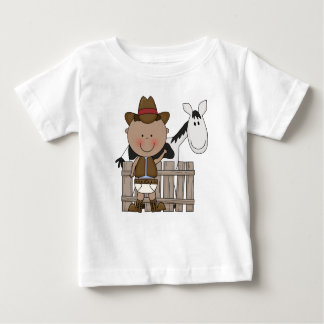 Diaper Derby Cowboy Pony Infant Toddler Boys Baby T-Shirt