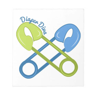 Diaper Diva Memo Pad