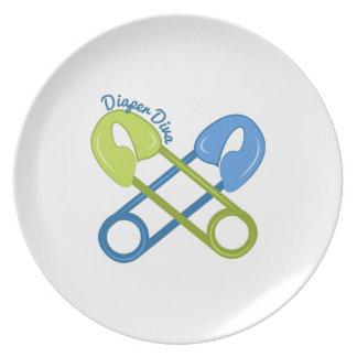 Diaper Diva Plates