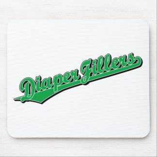 Diaper Fillers in Green Mouse Pad