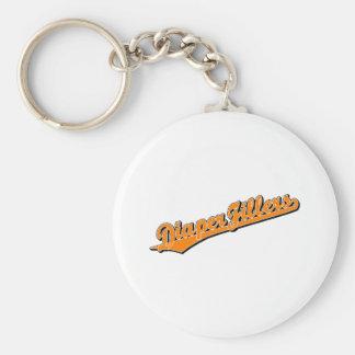 Diaper Fillers in Orange Basic Round Button Keychain