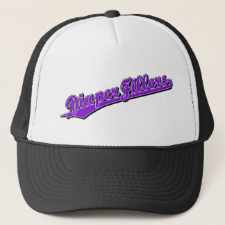 Diaper Fillers in Purple Trucker Hat