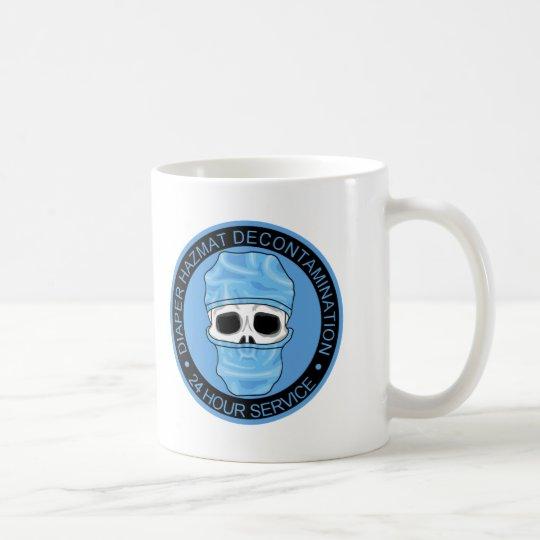 Diaper Hazmat Decontamination Coffee Mug