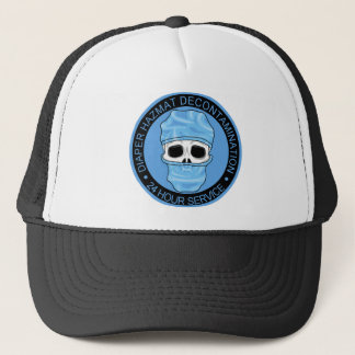 Diaper Hazmat Decontamination Trucker Hat
