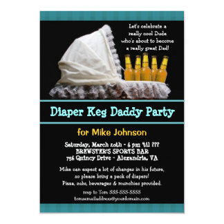 Diaper Party Invitations Announcements Zazzle