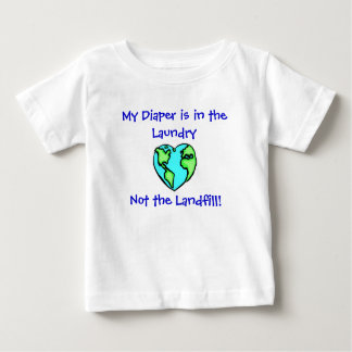 Diaper Laundry W/Back Baby T-Shirt