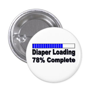 Diaper Loading 78% Complete Infant Apparel 1 Inch Round Button