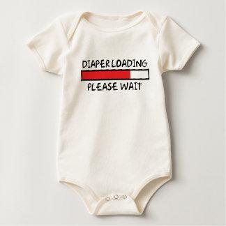 Diaper Loading Baby Bodysuit