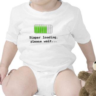 Diaper Loading Bodysuit