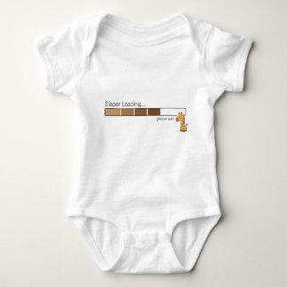 Diaper Loading ... giraffe infant creeper