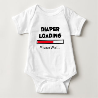 Diaper Loading - Please Wait... Baby Bodysuit