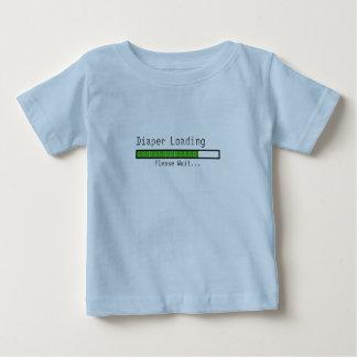 Diaper Loading. Please Wait Baby T-Shirt