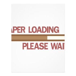 Diaper Loading Please Wait.... Letterhead