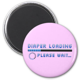 Diaper Loading Please Wait Magnets