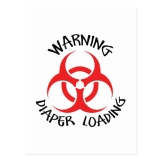DIAPER LOADING POSTCARD