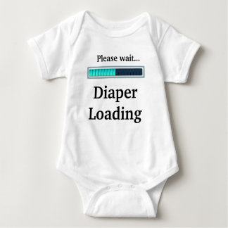 Diaper Loading T Shirt