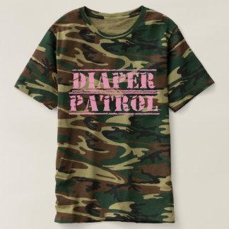 Diaper Patrol Men's Tee (Pink)