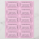 """Diaper Raffle Ticket Template<br><div class=""""desc"""">Customize this diaper raffle ticket template for baby showers and other events. Simply cut each ticket,  or,  fold and enclose the whole sheet with each invitation because baby&#39;s use a LOT of diapers!</div>"""
