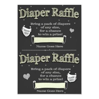 diaper raffle invitations & announcements | zazzle, Baby shower invitations