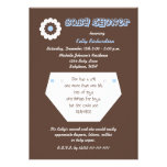 Diaper Second Baby Boy Shower Invitation Personalized Invite