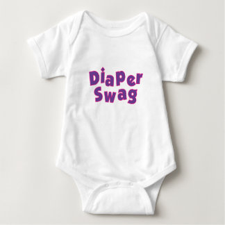 Diaper Swag Purple T-shirt
