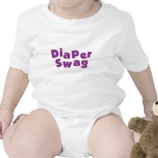 Diaper Swag Purple Tee Shirt