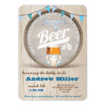 Diapers and Beer Boy Baby Shower Invitation