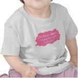 Diapers Make Butt Big Pink Tshirt